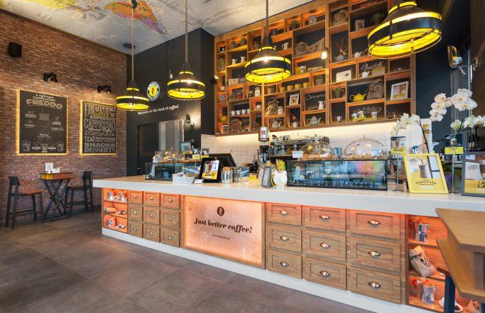 Bruno coffe store Larisa Averof