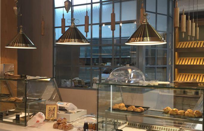 Greek  New-Traditional Grosery  Boulangerie .Veria City .Greece.2015