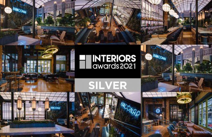 SILVER AWARD RESTAURANT BAR INTERIORS 2021
