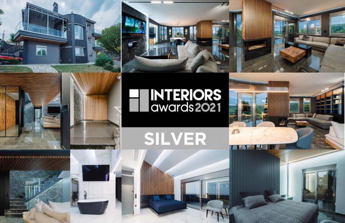 SILVER AWARD HOME INTERIORS 2021